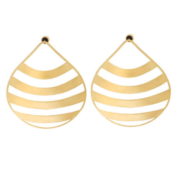 Calico Seashell Earrings BR-SLV-YP-L