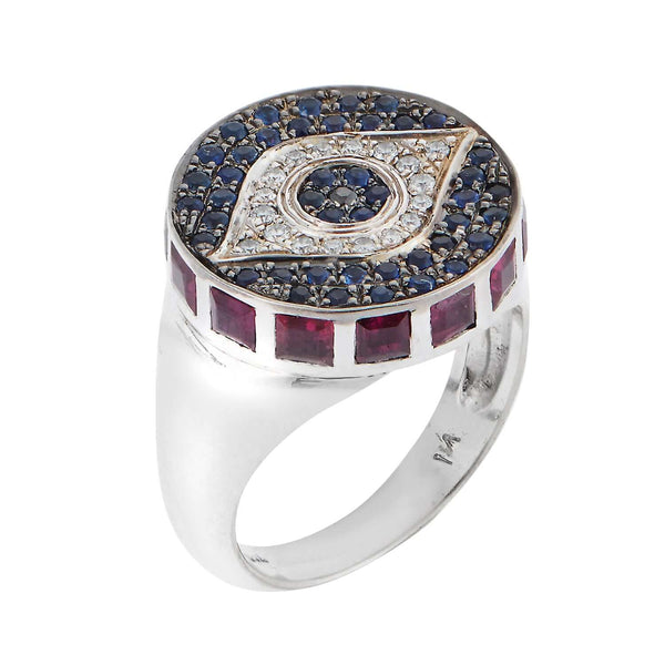 Dawn Candy Chevalier Ring W-D-Ru