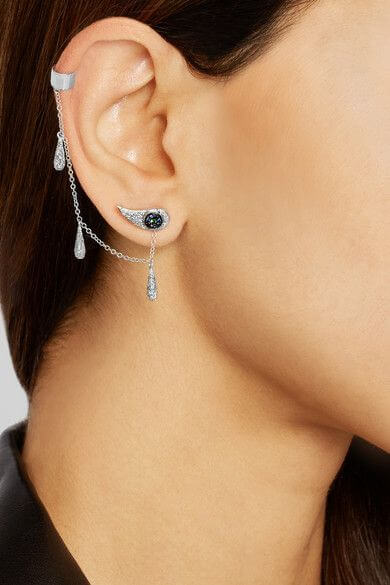 Chained Tears Earring W-D-Bs-Ts