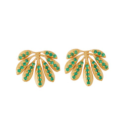 Tropical Leaf Studs