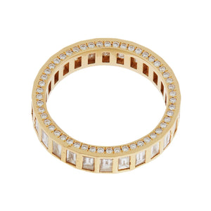 Promise Candy Baguette Diamond Band Y-D