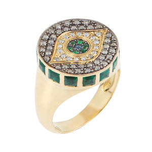 Dawn Candy Chevalier Ring Y-D-Em