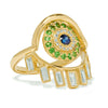 Baguette Eye Ring Y-D-Ts-Bs