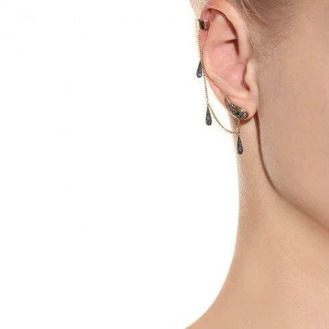 Chained Tears Earring Oxs-Bs-Chd-Ts-Bd