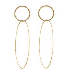 Double Slim Hoops Y-CHD-L