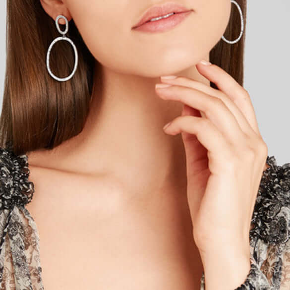 Again Single Earrings D-S