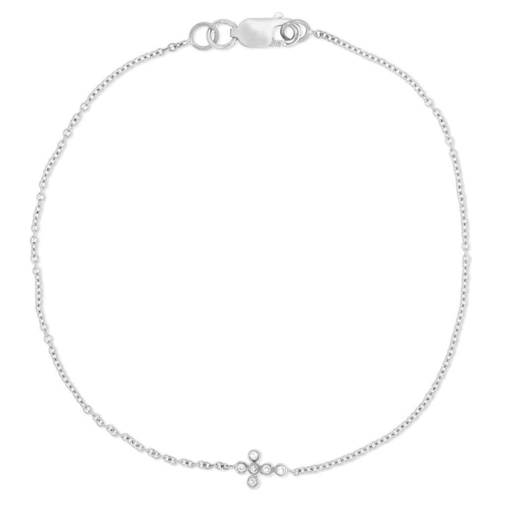 Mini Cross Bracelet W-D