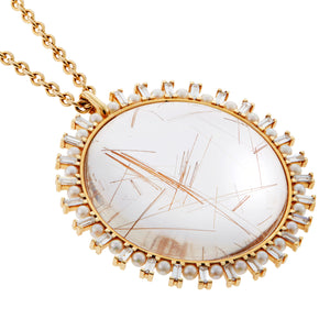 Crystal Sun Necklace