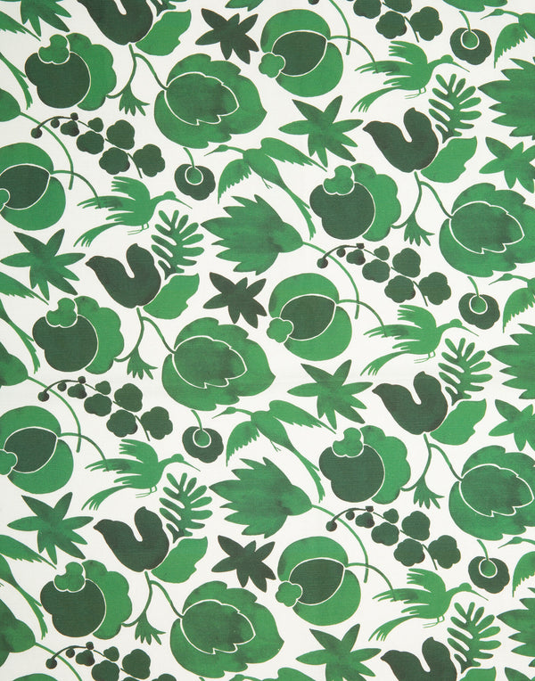 Wildbird Verde Dishtowels in Cotton