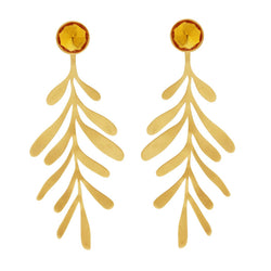 Garden Leaf Earrings