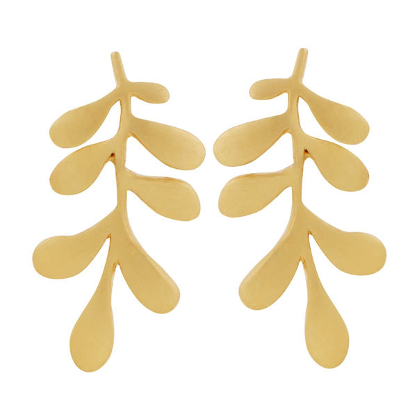 Forest Leaf Studs