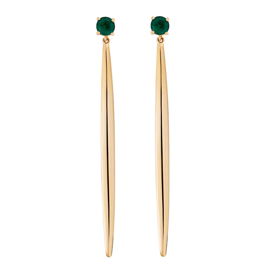 Single Grass Drop Earrings