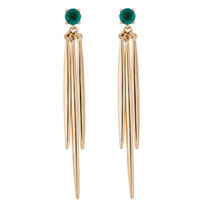 Grass Drop Earrings