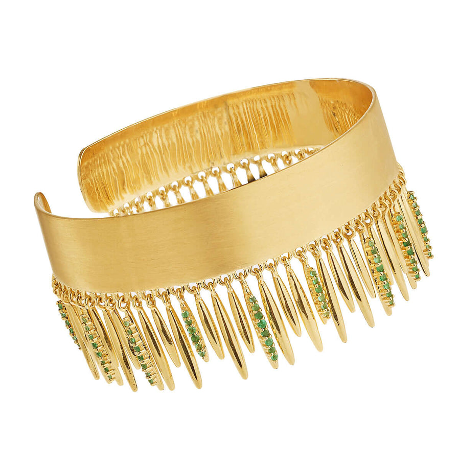 Grass Leaves Bangle Y-EM
