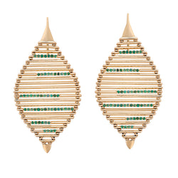 Grass Seed Earrings