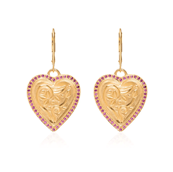 Heart Beat Earrings Y-PS