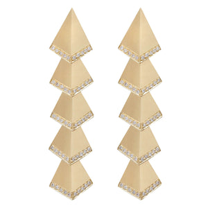 Multi Rombus Earrings D