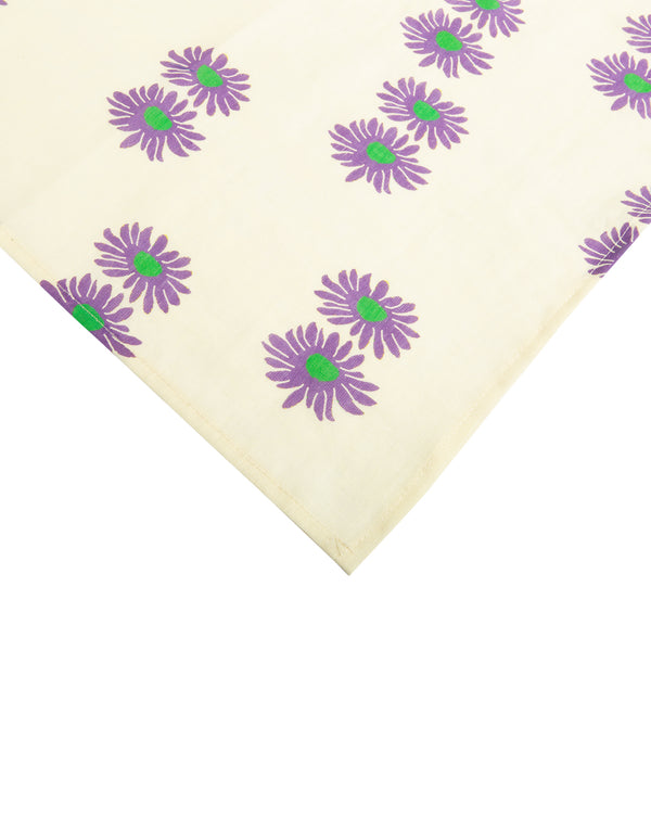 Dinner Napkin Set of 6 Margherita Viola Small in Linen