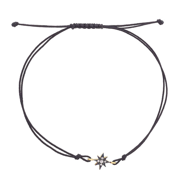 North Star Cord Bracelet