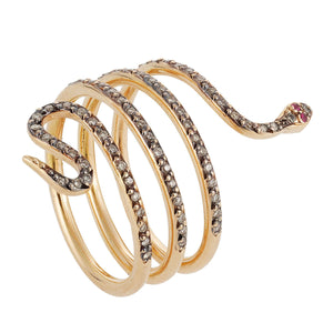 Large Single Python Ring P-Chd-Ru