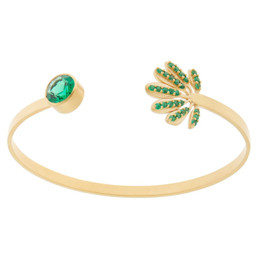 Tropical Leaf Cuff