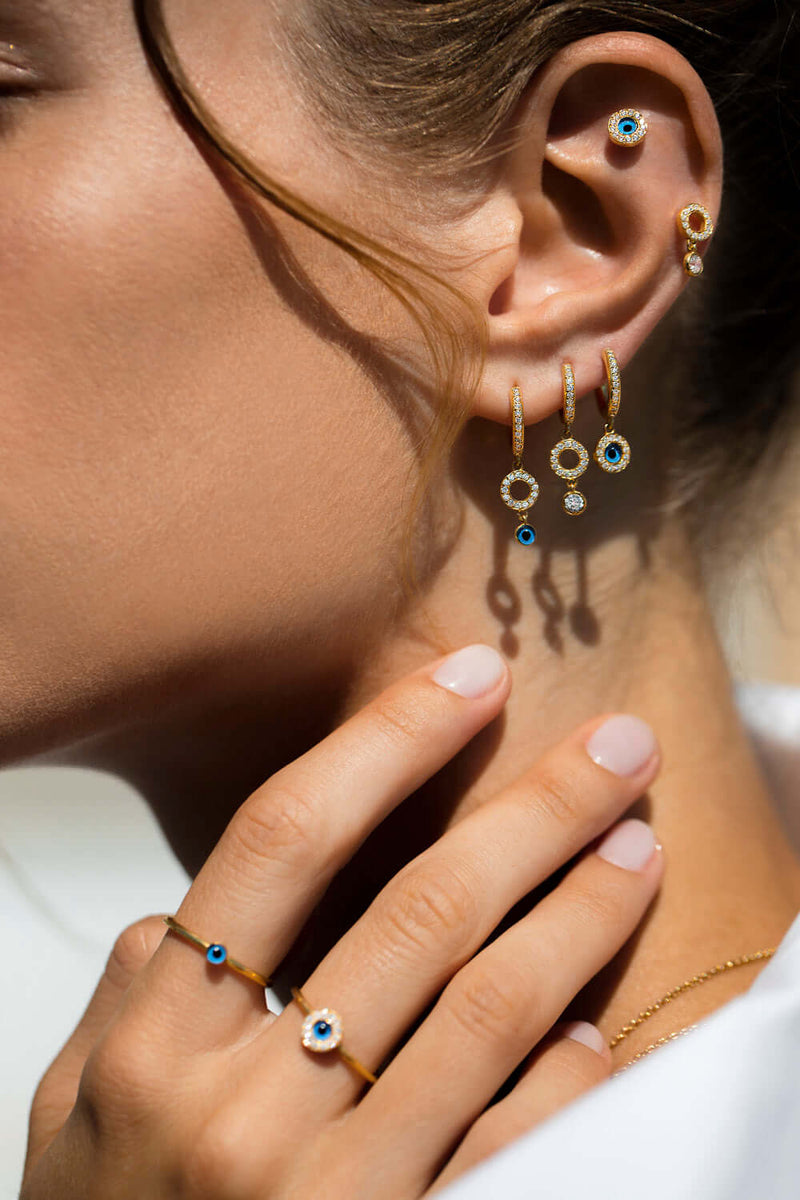 Protection Drop Midi Hoops
