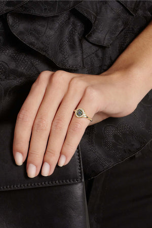 Cats Eye Ring Ox-D-Ts-Bs