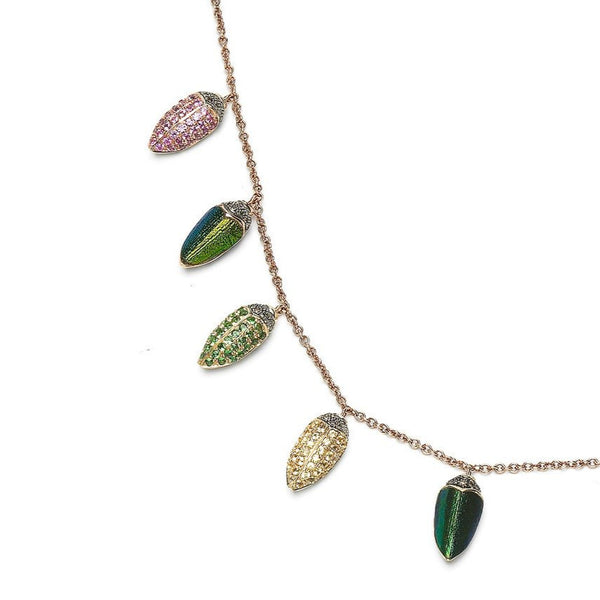 Small Scarabs All Round Necklace