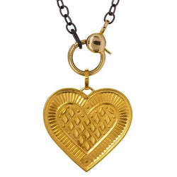 Cross My Heart Pendant Y