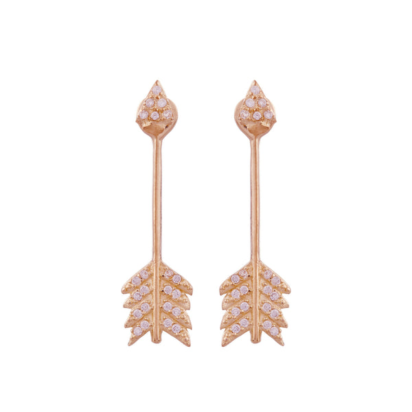 Shooting Arrow Earrings P