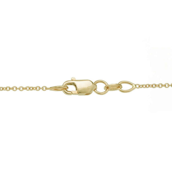 18k yellow gold fine cable chain