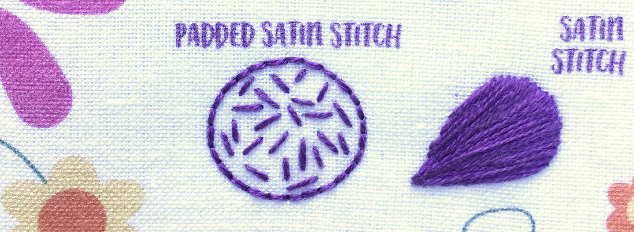 Padded Satin Stitch 2