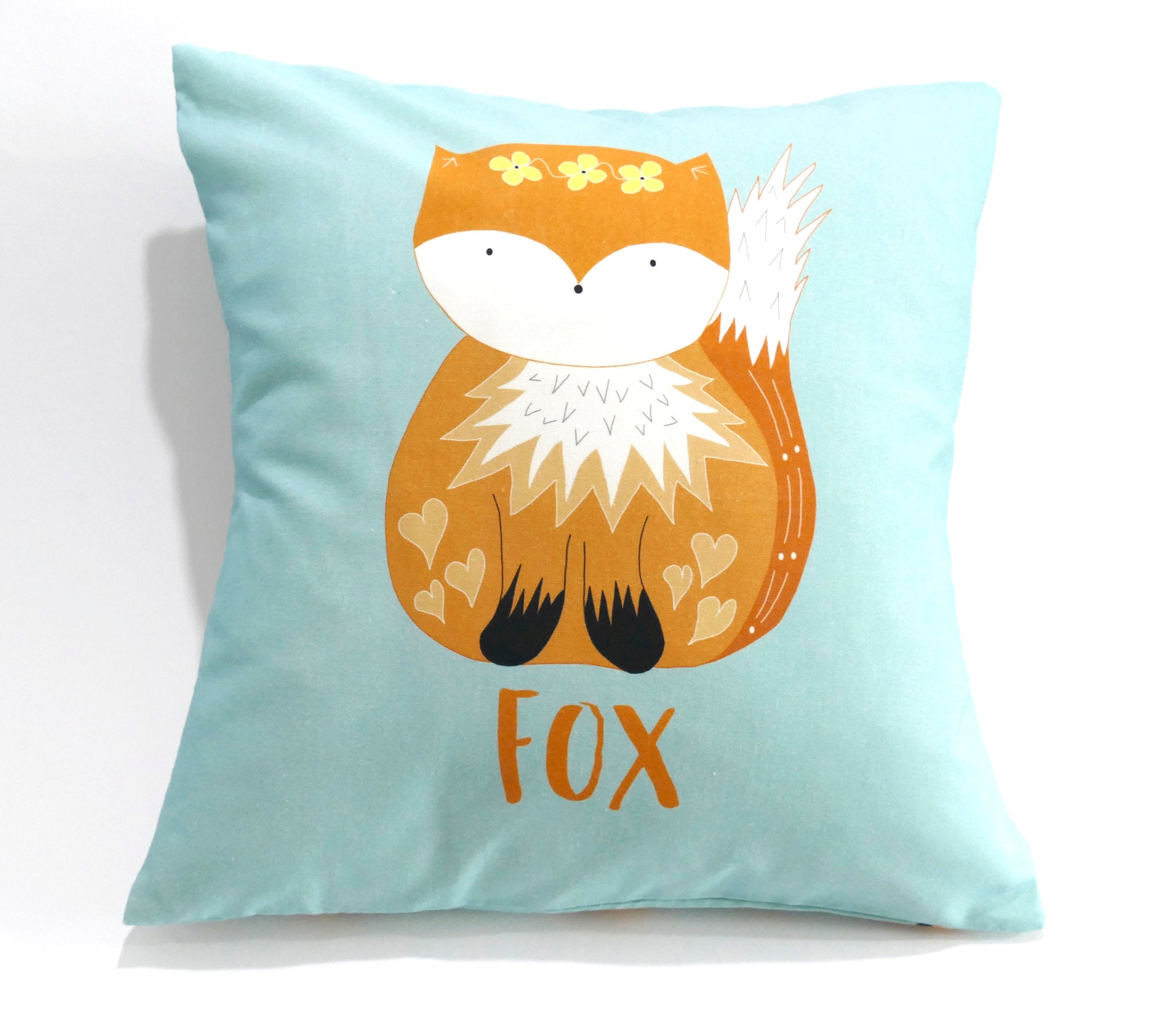Fox cushion cover sewing kit