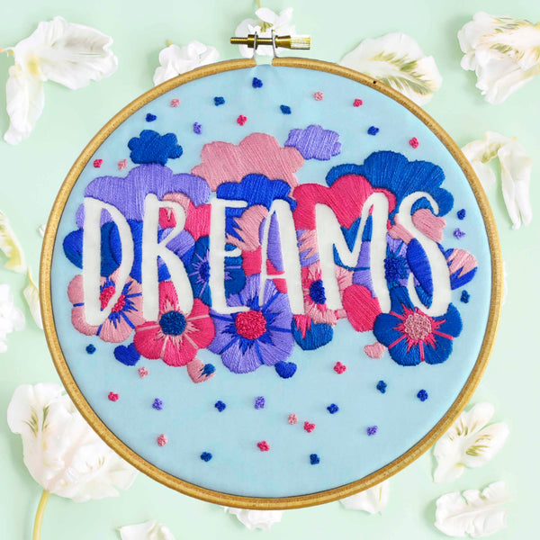 Dreams Feminist Hand Embroidery Kit