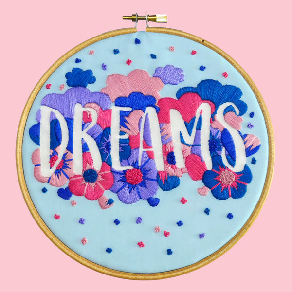 Dreams Embroidery Kit