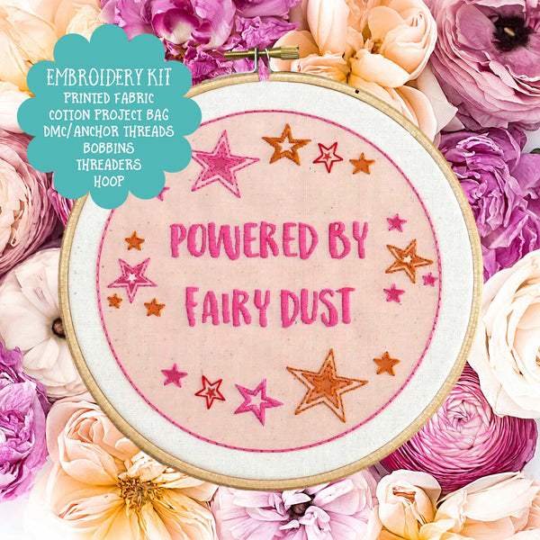 Fairy Dust Embroidery Kit