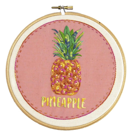 Pineapple Embroidery Kit