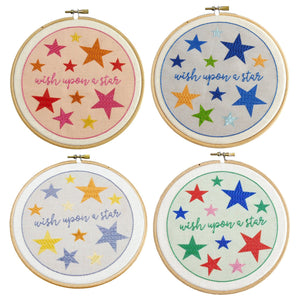 Wish Upon a Star Embroidery Kit