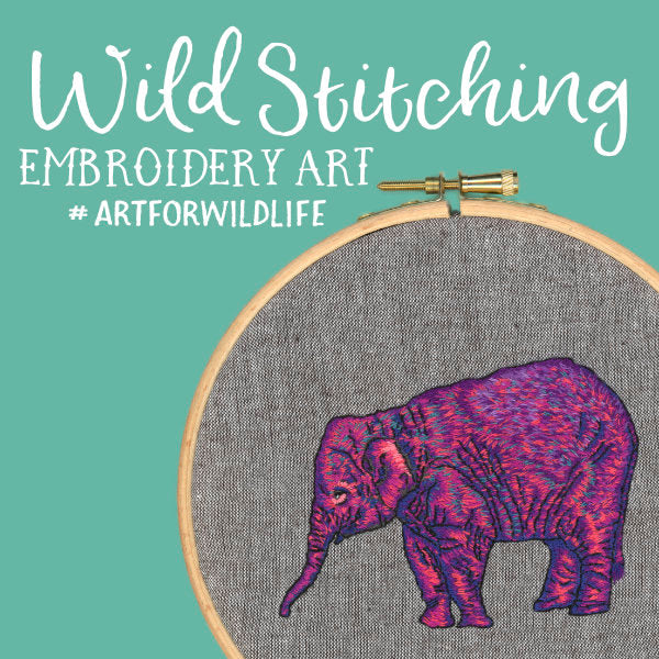 Wild Stitching Embroidery Art For Wildlife