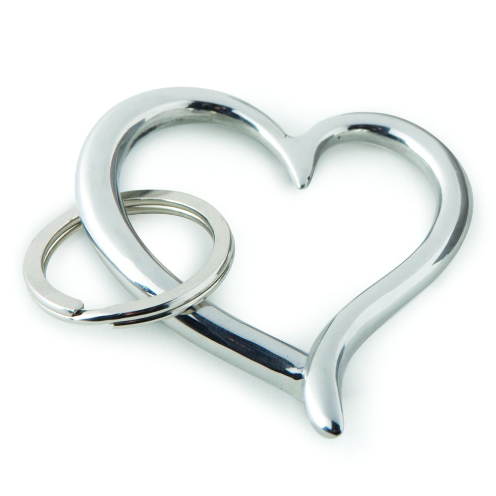 Culinary Concepts amore heart key ring