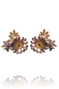 Amanda Coleman dutch bouquet earrings