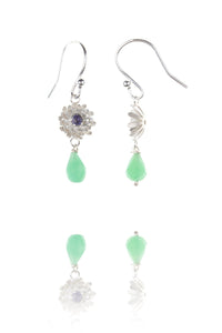 Amanda Coleman dahlia briolette drop earrings