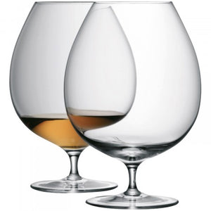 LSA Bar brandy glass x 2