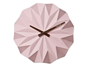 Karlsson Origami Pink Wall Clock