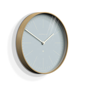 Newgate Mr Clarke wall clock pill blue