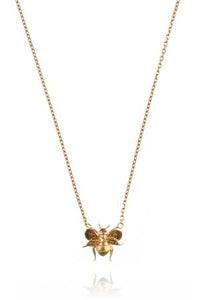 Amanda Coleman bee necklace in 22ct gold vermeil