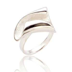 Ariana Silver Statement Ring