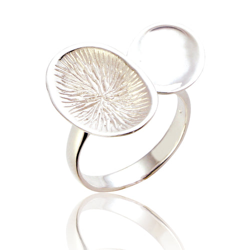 Abigail Silver Statement Ring