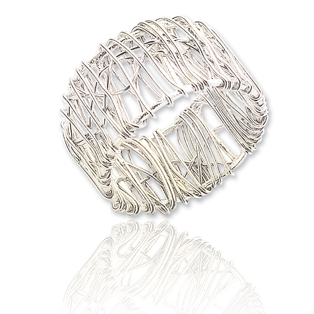 Dariela Silver Wire Ring