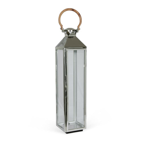 Culinary Concepts stainless steel medium tall venetian lantern with wooden handle